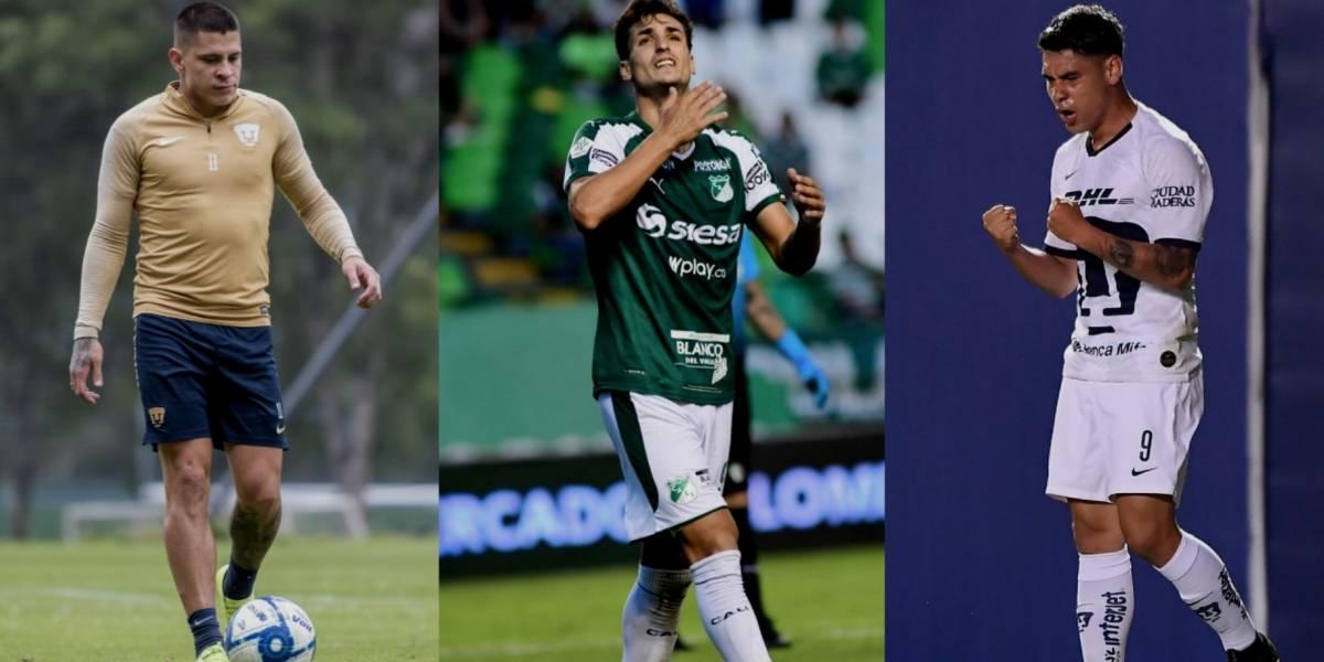 Llegada de Juan Dinenno a Pumas depende de Iturbe y Mora