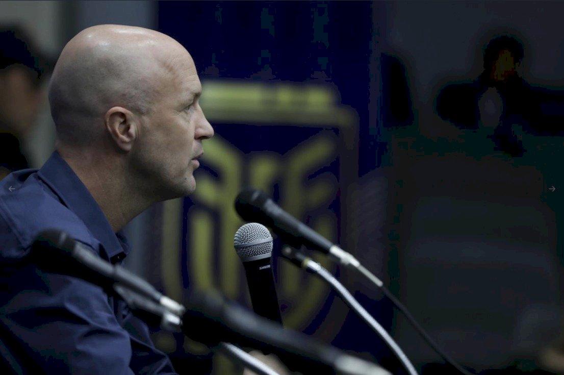 Jordi Cruyff, director técnico del Ecuador @FEF