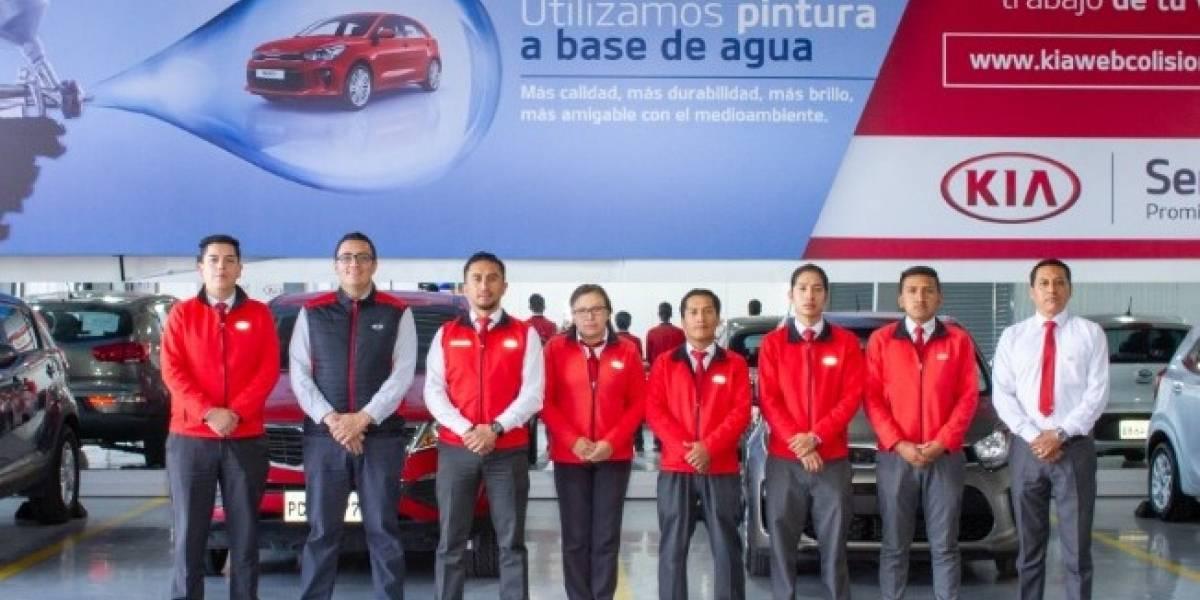 Kia Motors inaugura centro de colisiones en Quito