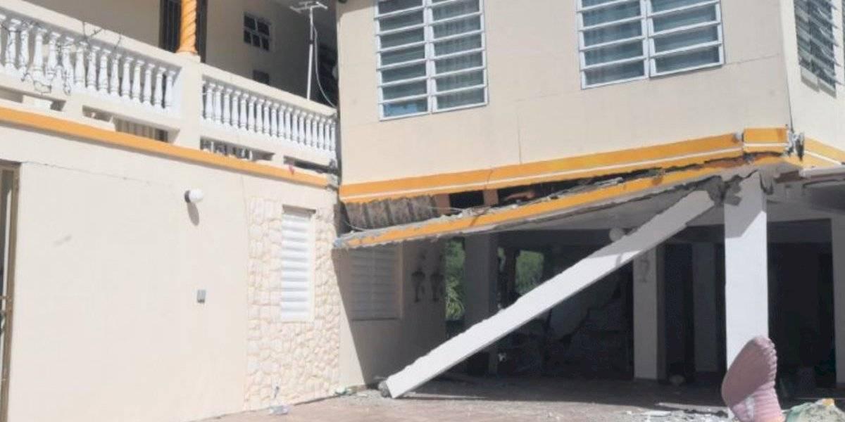 Golpeadas las casas en Yauco