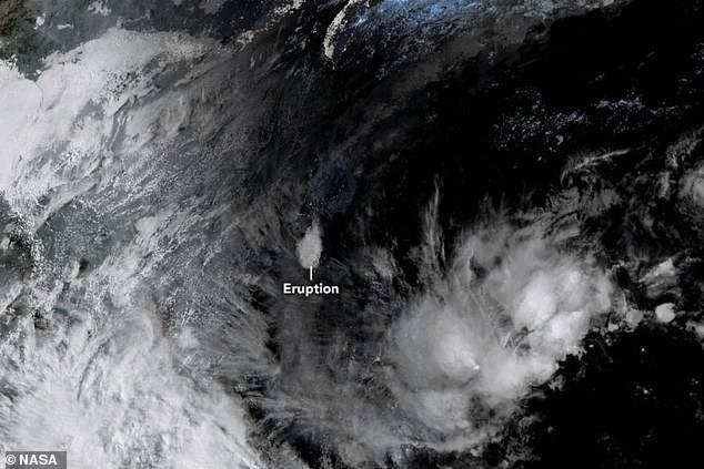 Erupción del Volcán Taal en Filipinas ya puede ser observada desde el espacio