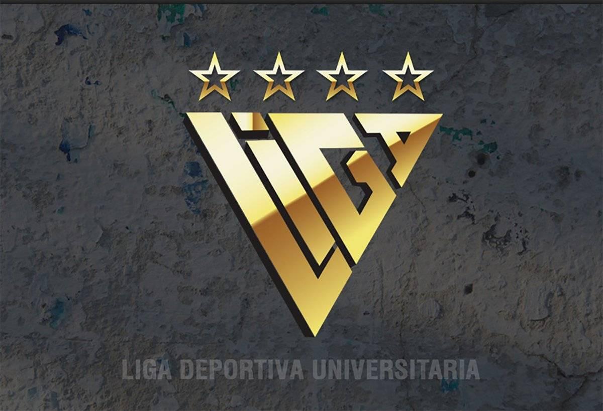 Circulan en redes sociales nuevos escudos de Liga de Quito pero no pertenecen a la imagen oficial Estadio Liga Deportiva Universitaria