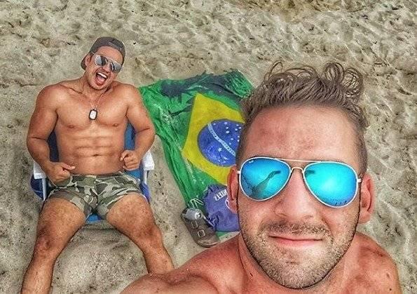 Bruno Zaretti y Ricardo Callejas