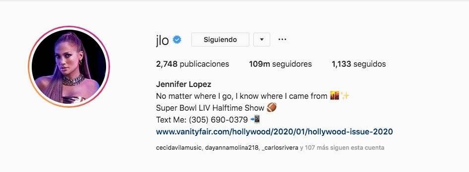 Jennifer Lopez compartió su numero de celular