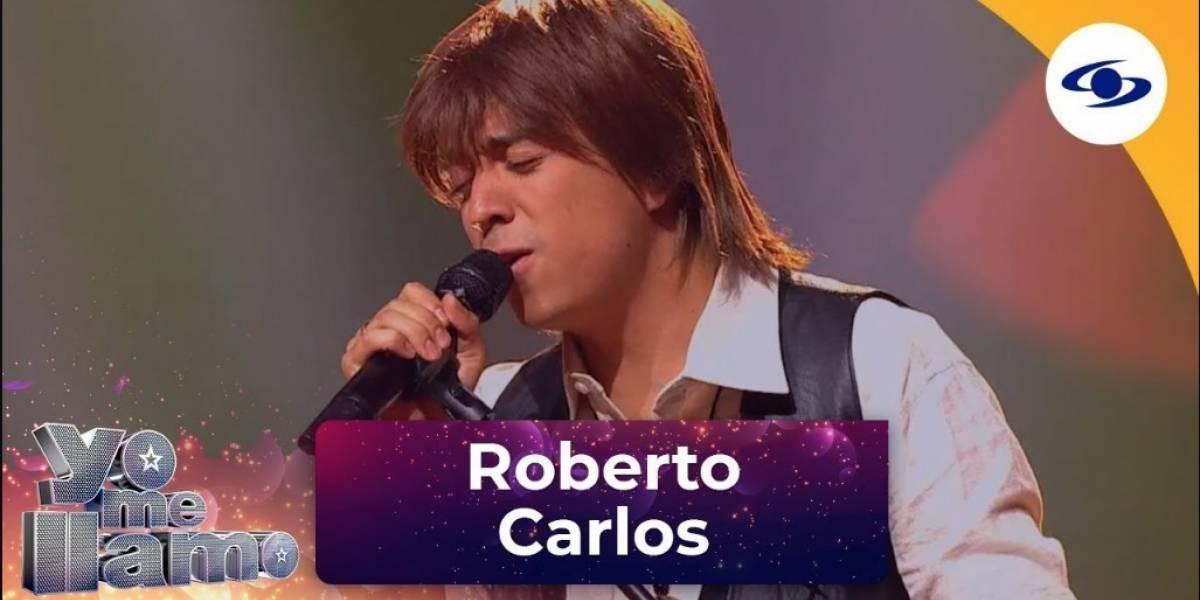 Por delicado error, Roberto Carlos sería el siguiente eliminado de 'Yo me llamo'