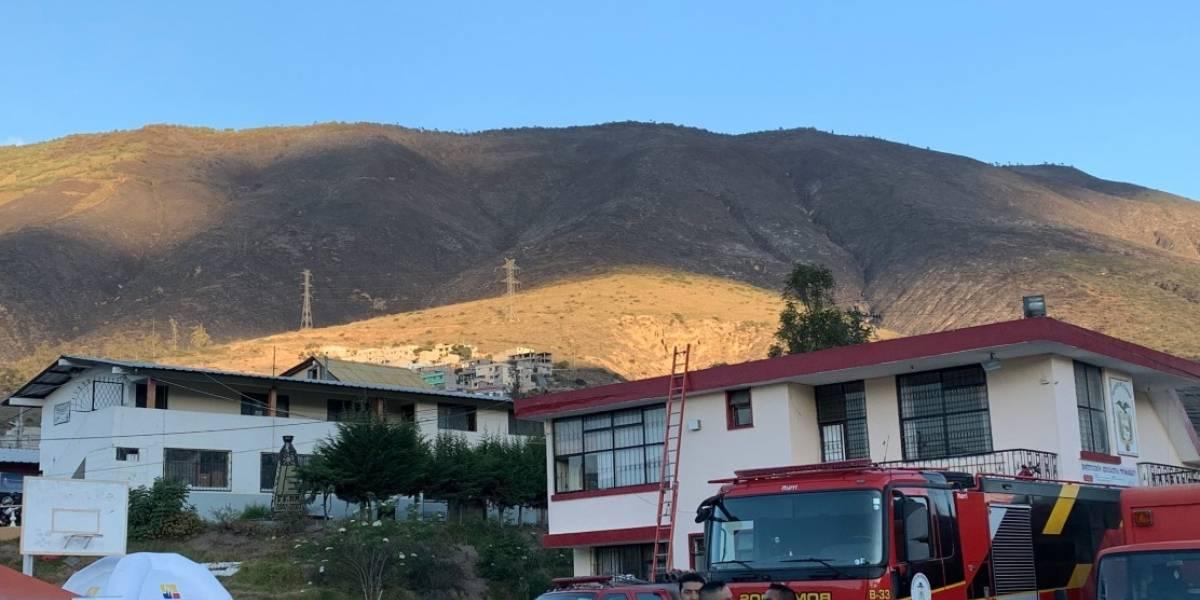 17 de enero: Continúan labores de liquidación de focos de calor en cerro Casitagua