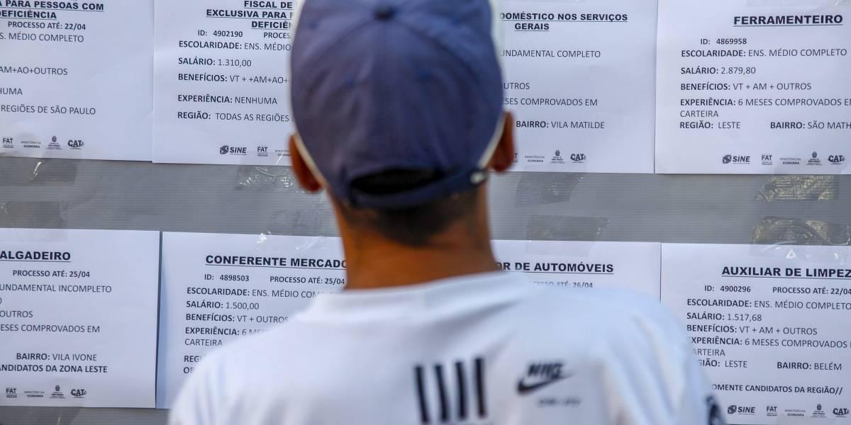 11,8 mi de brasileiros estão em busca de um emprego, aponta PNAD