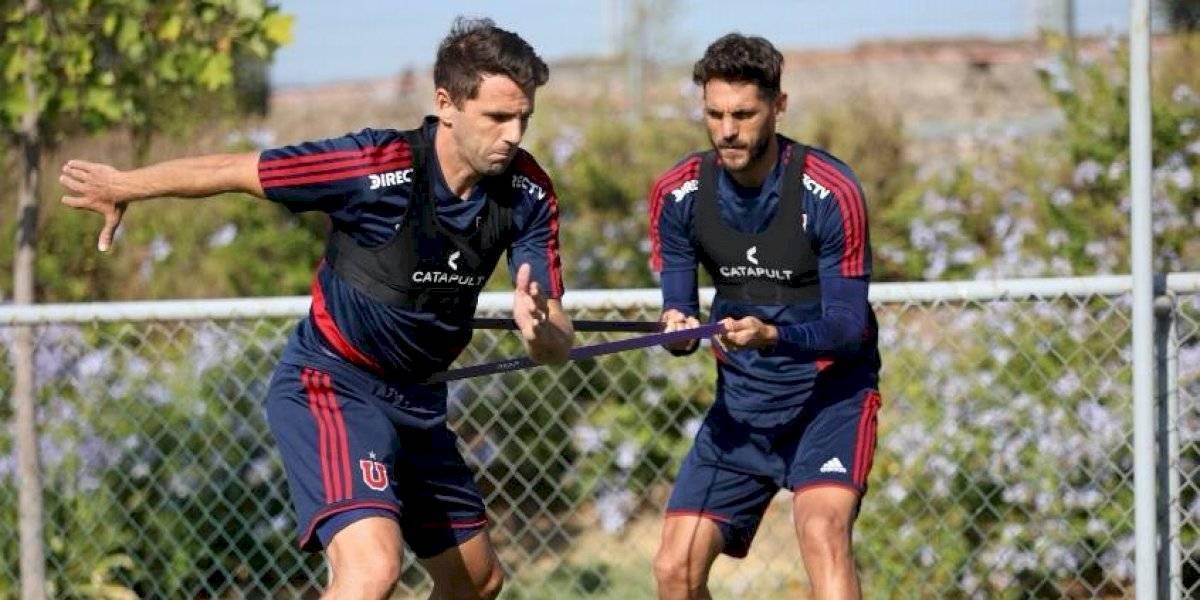 La U va con todo: Montillo y Larrivey fueron citados para el incierto partido ante Unión Española por Copa Chile