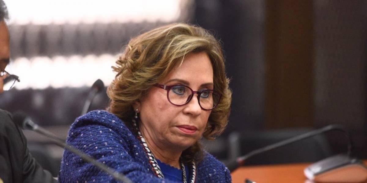 Sandra Torres presenta querella contra diputados por difamación, injuria y calumnia