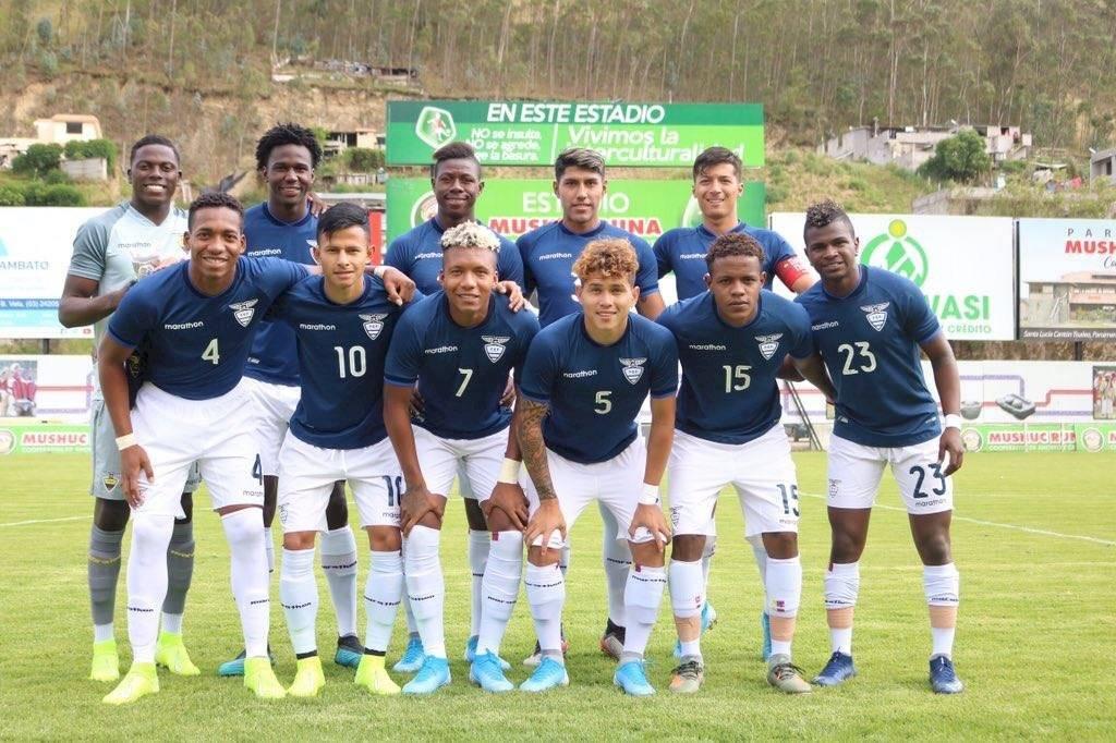Selección de Ecuador Sub 23 API