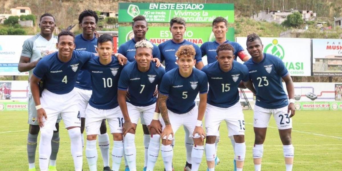 Ecuador cae ante Chile por 3-0 en el Preolímpico Colombia
