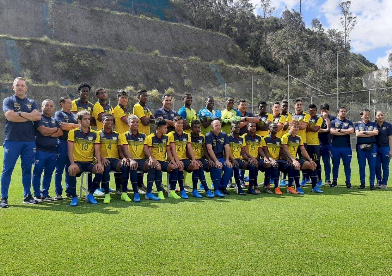 Delegación de Ecuador para los juegos Preolímpicos Sub 23 Twitter