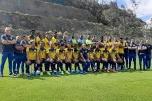 Delegación de Ecuador para los juegos Preolímpicos Sub 23