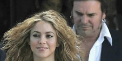 Shakira y Fernando Olvera
