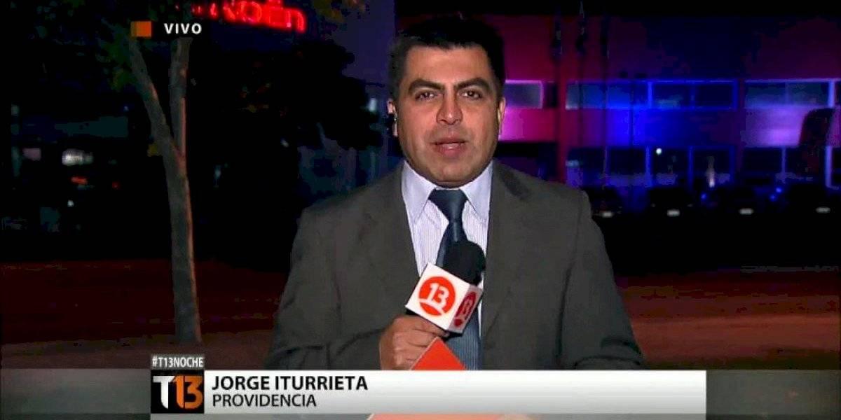 """""""Es muy preocupante su situación"""": operan a periodista de Canal 13 tras ser impactado por proyectil de Carabineros"""