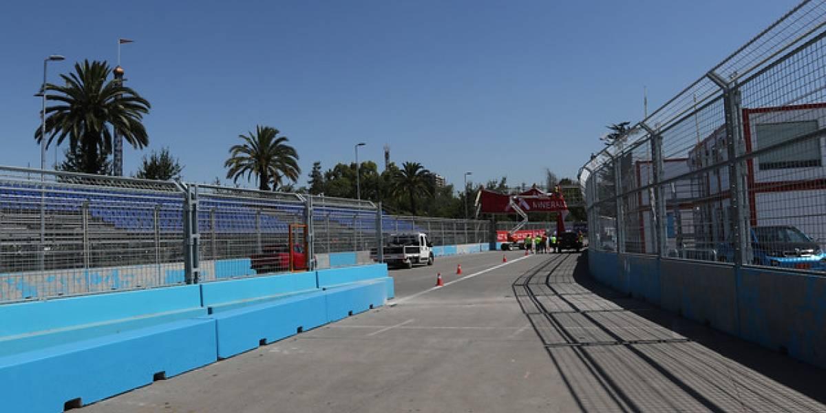 Disponen desvíos de tránsito en Santiago para este sábado por la Fórmula E