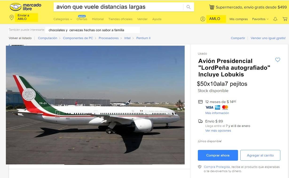 Conoce todos los memes que dejó la rifa del avión presidencial en México