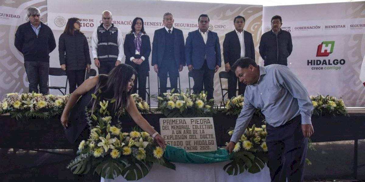 Recuerdan a víctimas de Tlahuelilpan a un año de explosión