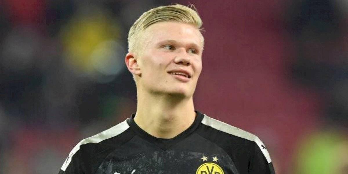 Debut a lo crack: Erling Haaland anotó hat trick en su primer partido con el Borussia Dortmund