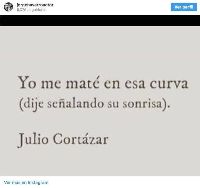 Mensaje sobre la muerte pulicado por Jorge Navarro
