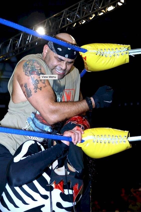 Konnan, en una lucha contra La Parka Mexsport