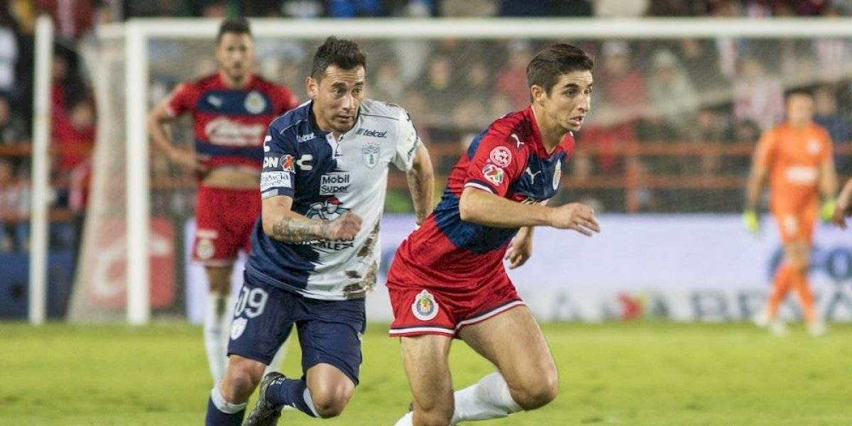 Chivas se desinfla y no puede vencer al Pachuca