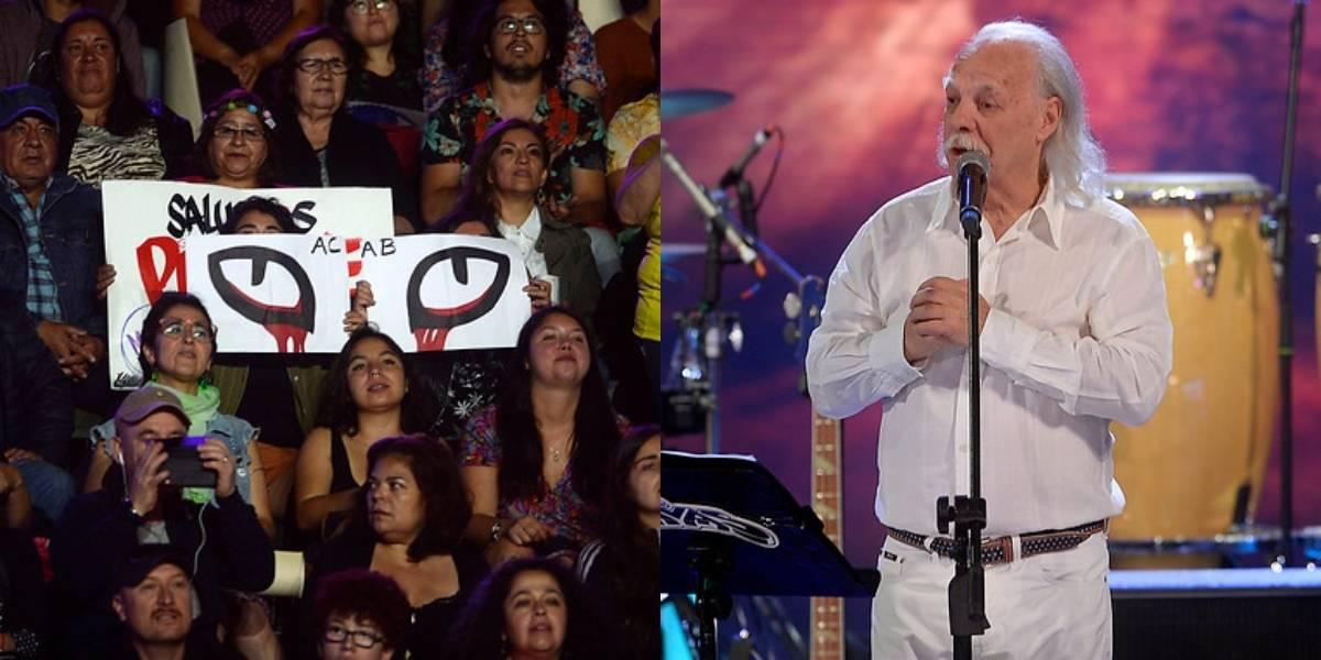 """""""Renuncia Piñera"""": así fue la manifestación del público durante la presentación de Los Jaivas en Olmué 2020"""