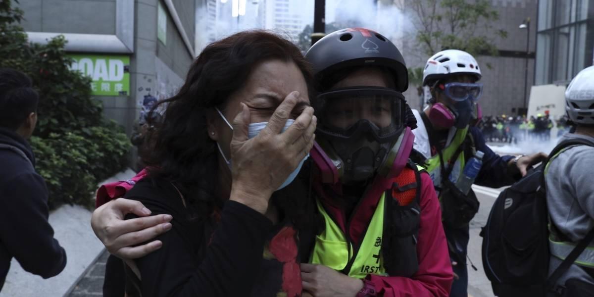 Hong Kong cumple 7 meses movilizado: piden sanciones ante la represión policial y un nuevo sistema electoral