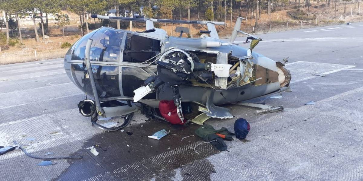 Se desploma helicóptero de la Defensa Nacional en Chihuahua