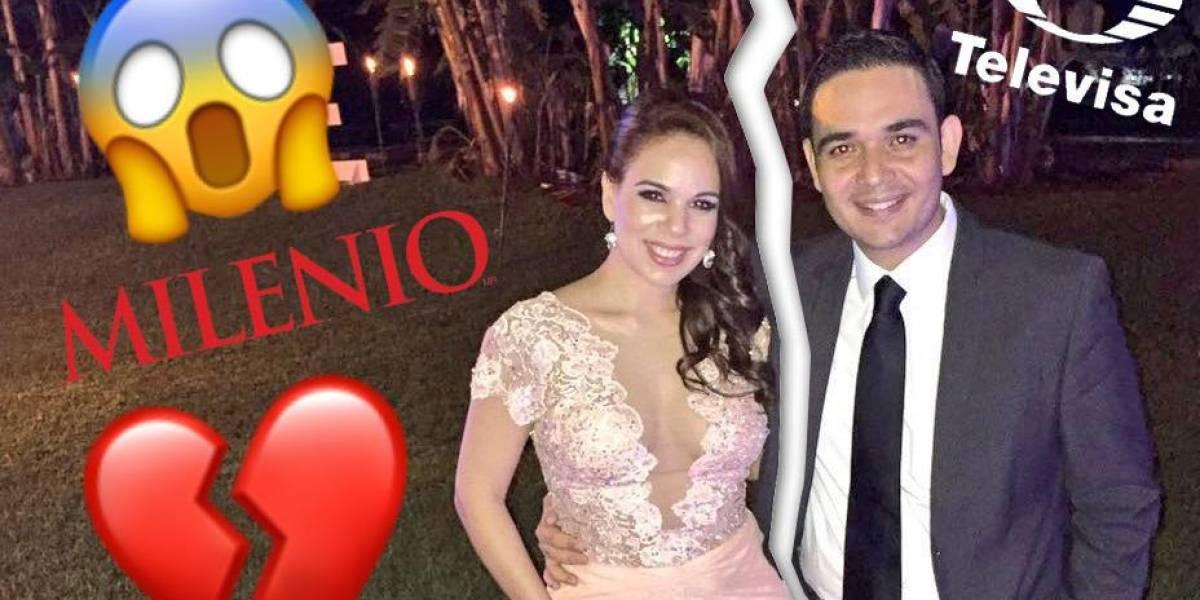 Anuncian ruptura conductores de Televisa y Milenio