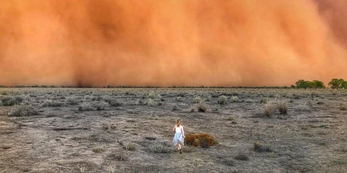 Australia no para de sufrir: después de los incendios llegaron las tormentas de polvo apocalípticas