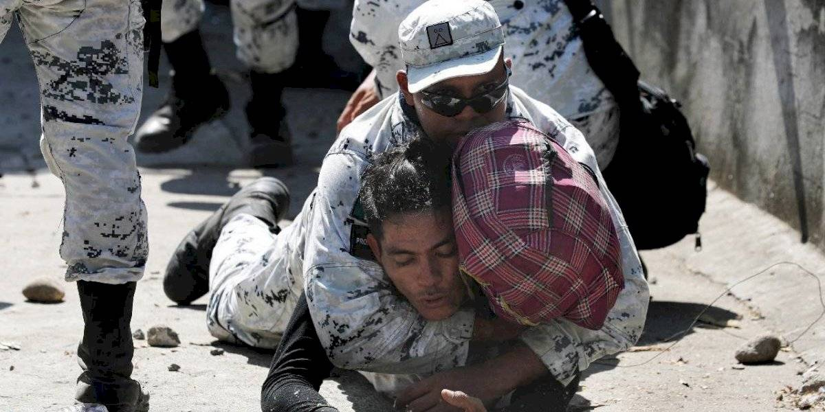 Se aplicó la ley sin violar derechos: AMLO sobre migrantes en Río Suchiate