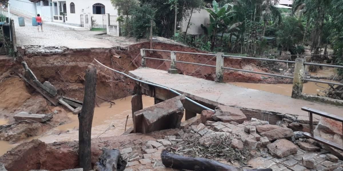 Ciclone pode atingir litoral do Espírito Santo nesta noite