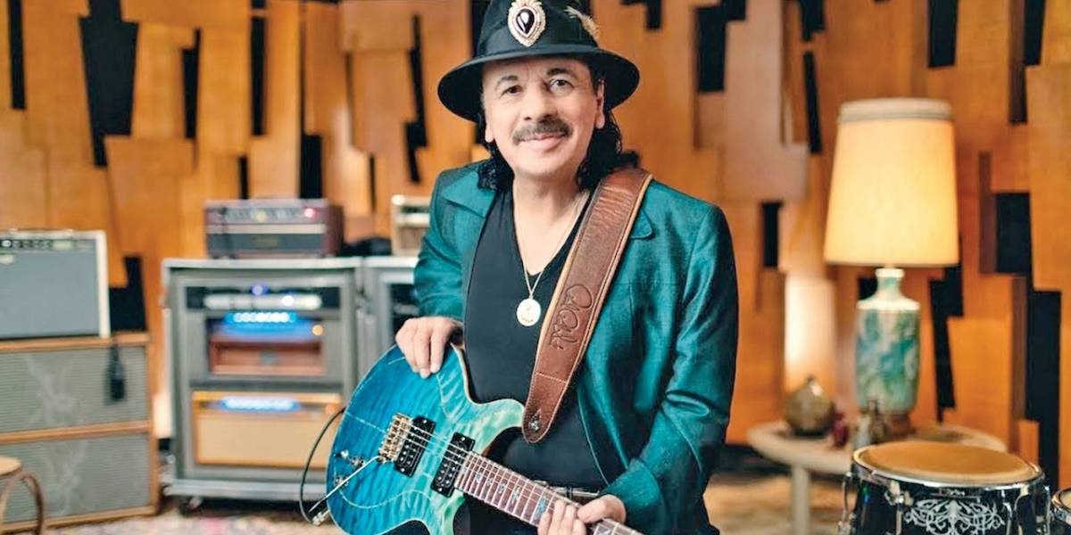 Guitarrista Carlos Santana entra no mercado da maconha