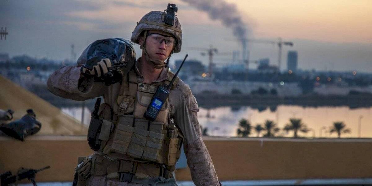 Tres cohetes cayeron cerca de la embajada de EUA en Bagdad