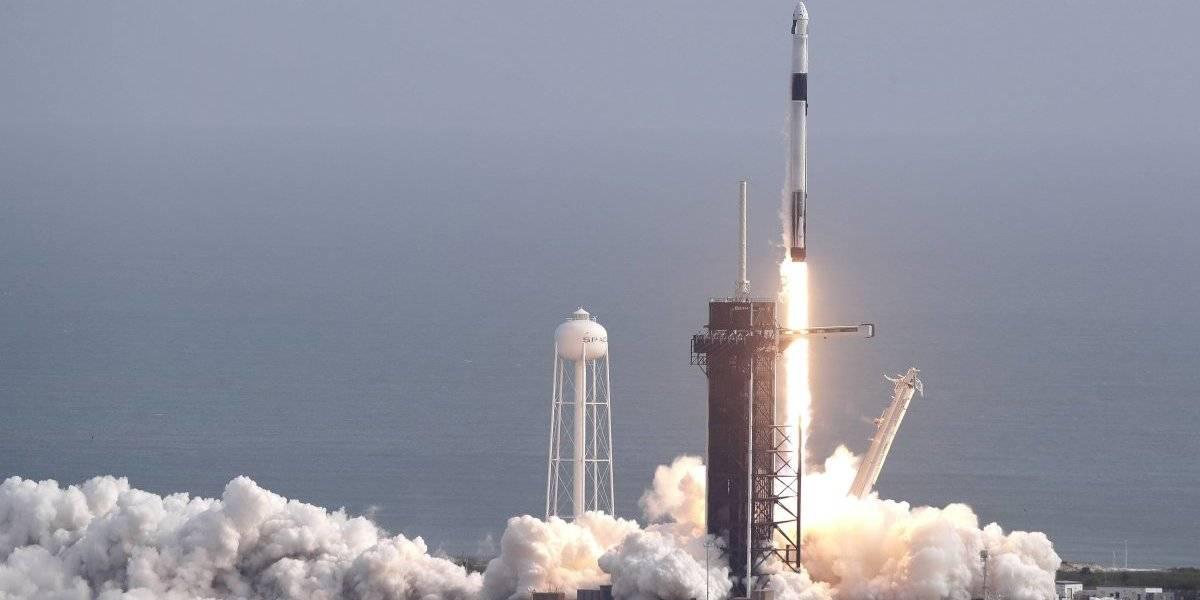 Despega el Crew Dragon de SpaceX hacia el espacio