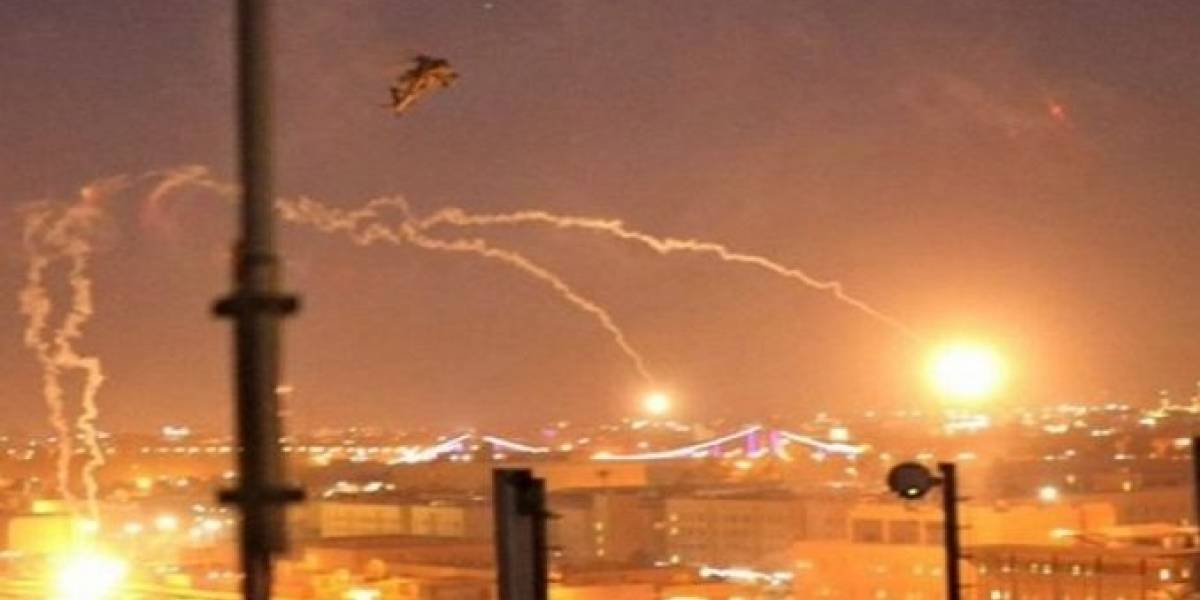 Cohetes impactan cerca de embajada de Estados Unidos en Irak