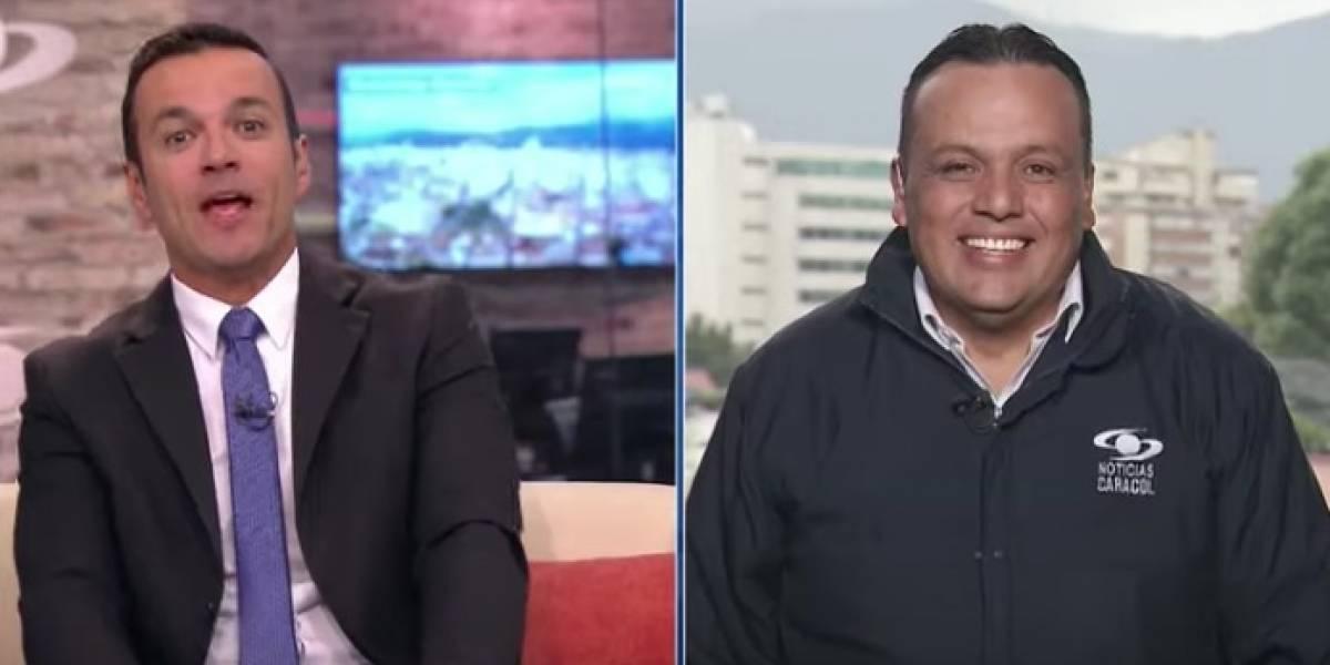 ¿El 'Ojo de la noche' está cansado de las bromas de Juan Diego Alvira en Noticias Caracol?