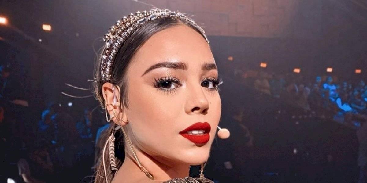 Danna Paola ofrece show en redes