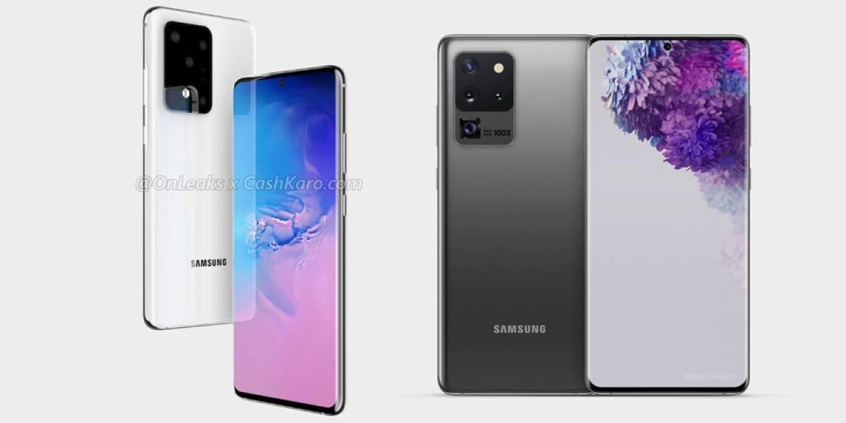 Una bestia: este rénder muestra cómo sería el Samsung Galaxy S20 Ultra 5G