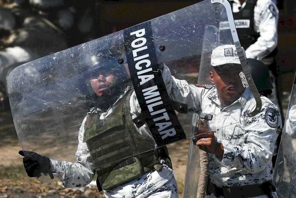 Ingreso de migrantes por frontera sur
