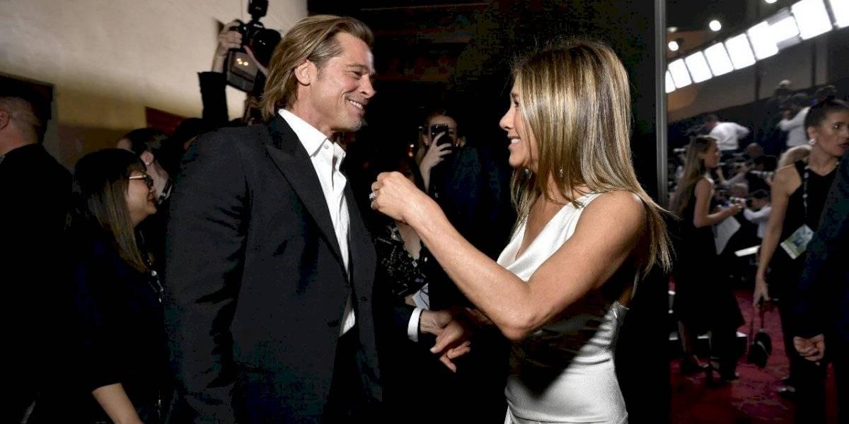 La amorosa reacción de Brad Pitt con Jennifer Aniston en los SAG