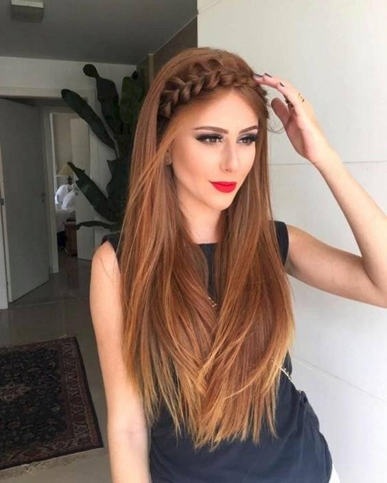 Peinados con cabello lacio 2020