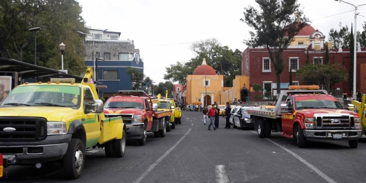 Regulan el servicio de grúas y corralones en Puebla; concesionarios pagarán hasta 35 mil pesos de multa