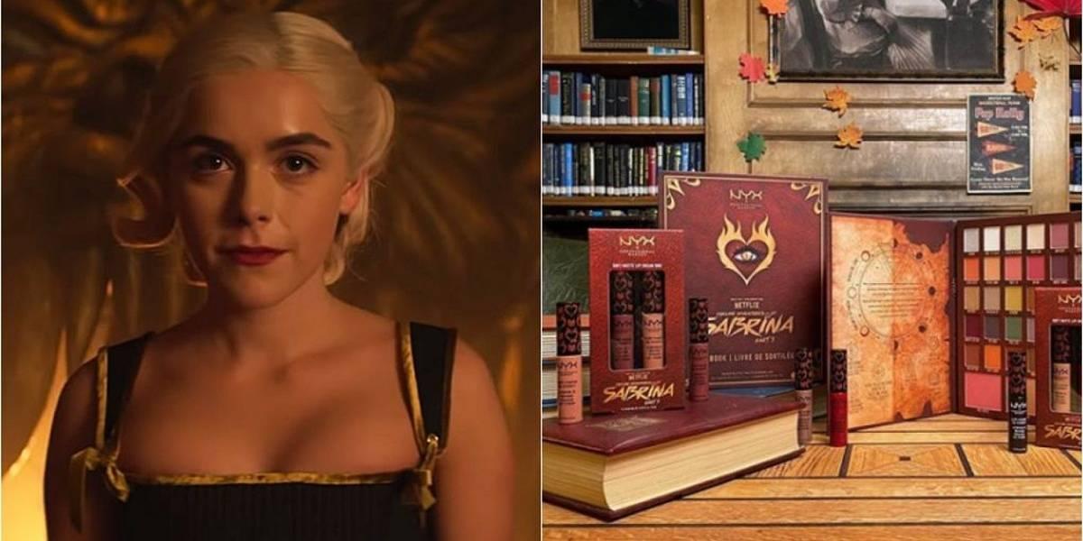 O Mundo Sombrio de Sabrina ganha coleção especial de maquiagem