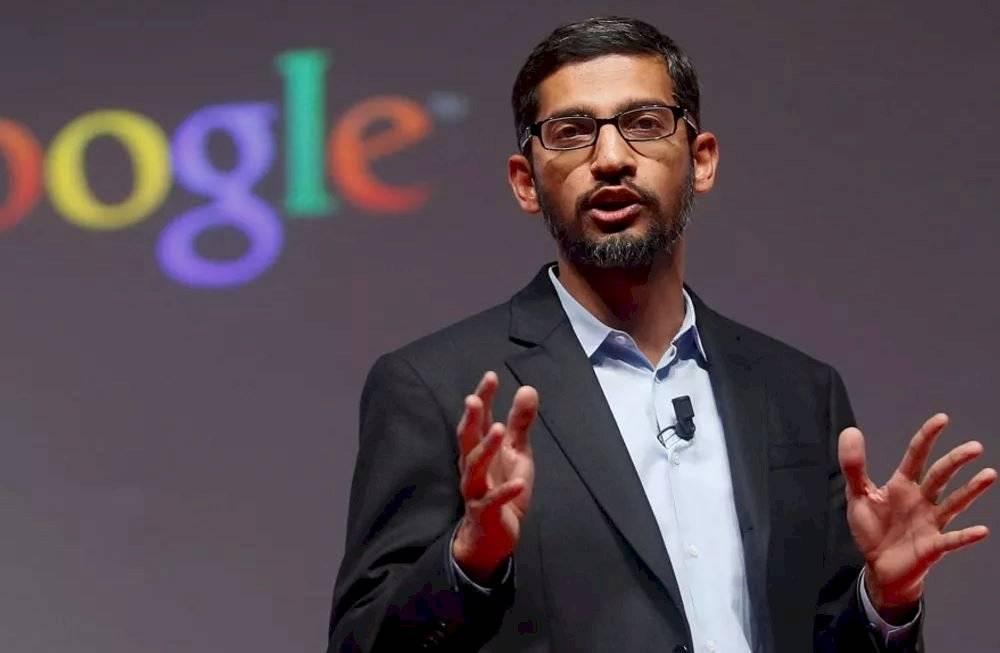CEO de Google y Alphabet, Sundar Pichai