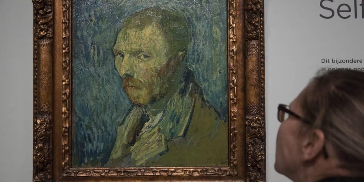 Confirman que un autorretrato de 1889 es de Van Gogh