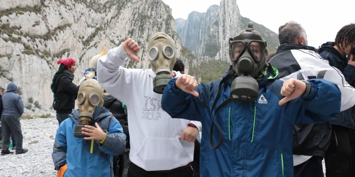 """""""Chocan"""" ambientalistas y ejidatarios por La Huasteca"""