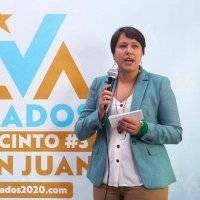 Eva Prados presenta demanda solicitando nueva elección en distrito 3 de San Juan