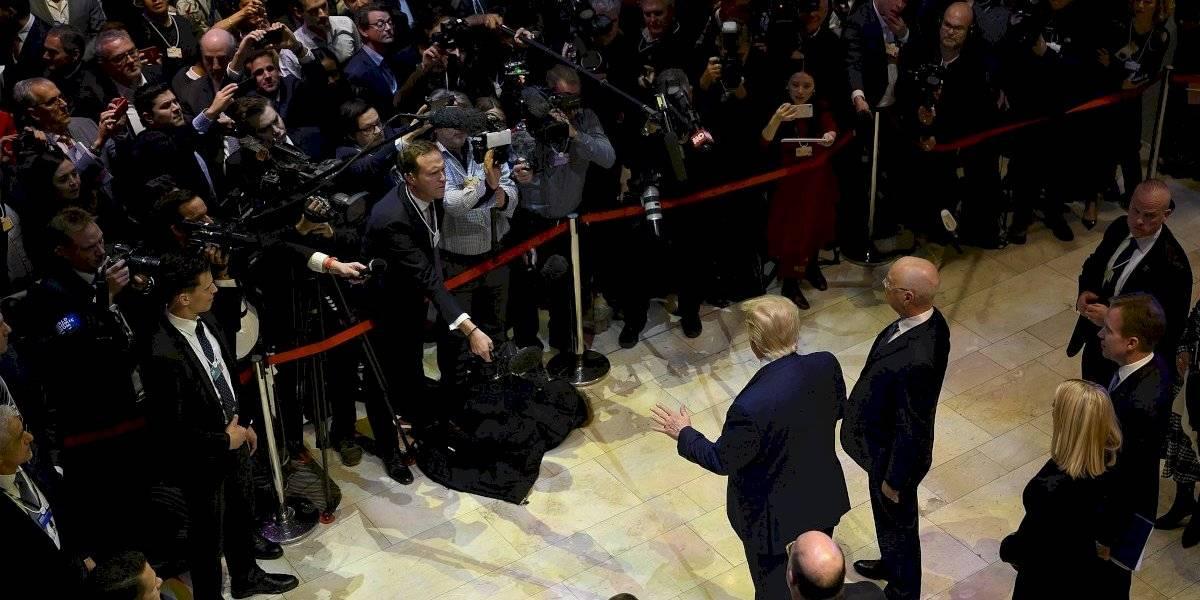 """Trump y Greta se muestran los dientes en Davos: el mandatario habla de """"catastrofismo"""" climático y Thunberg advierte que """"no se ha hecho nada"""""""